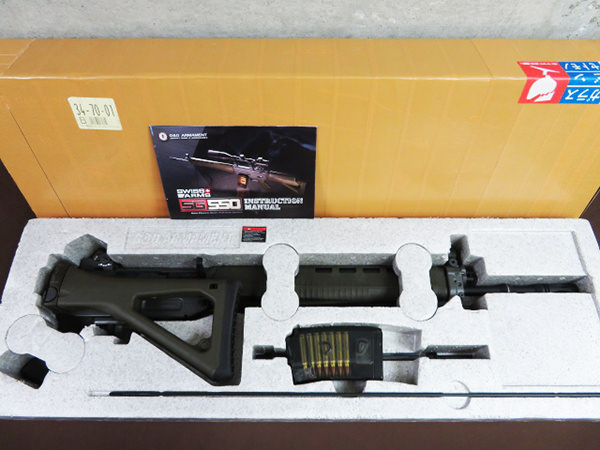 G&G SWISS ARMS SG550 買取