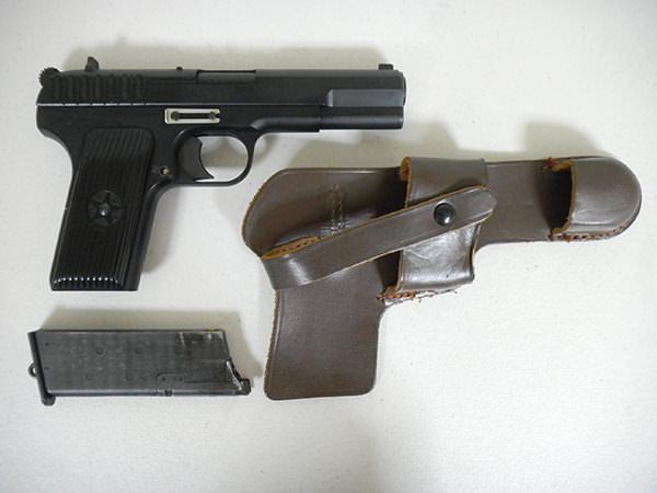 ハドソントカレフ TT-33 ホルスター付き 買取