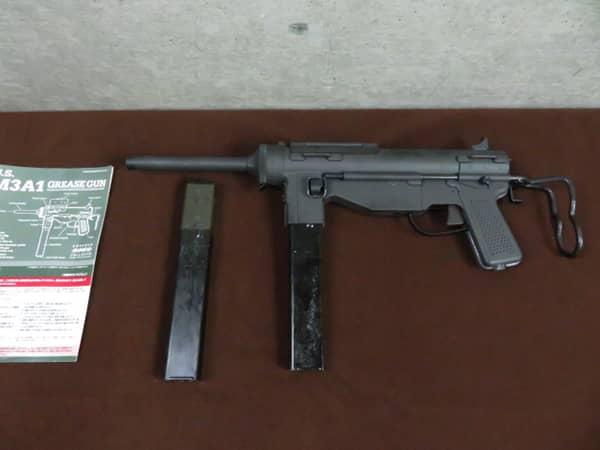 ハドソンU.S M3A1 グリースガン ガスガン マガジン2個
