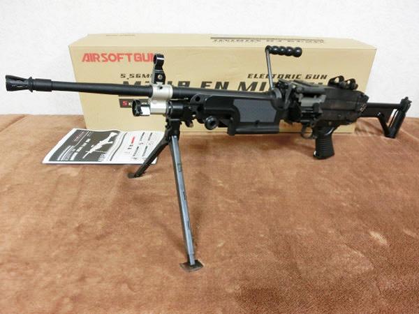 TOP JAPAN M249 MINIMI SAW MKⅡ