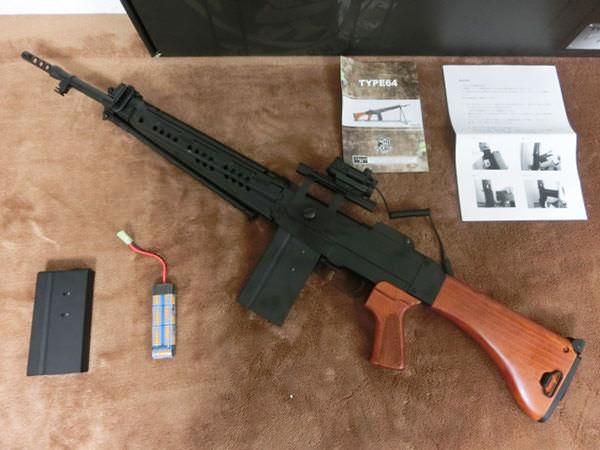 S&T 64式小銃 バッテリー ドットサイトスコープ 買取