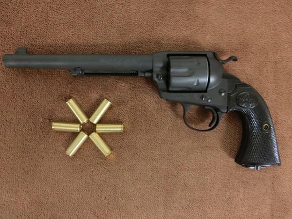 Colt Bisley コルト SAA 7.5インチ 2
