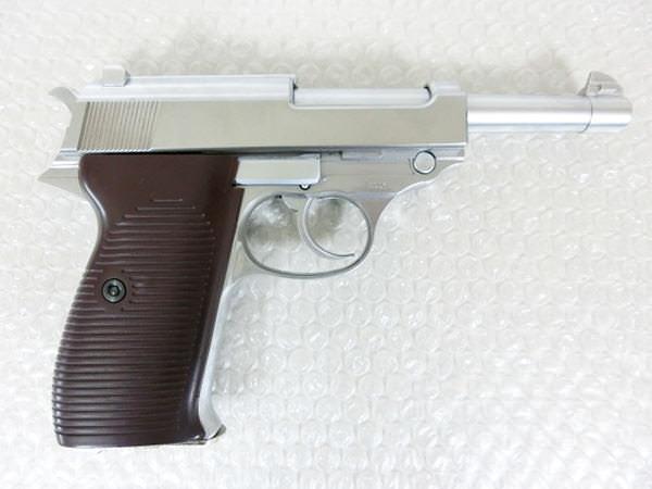 ワルサー P38 シルバー2