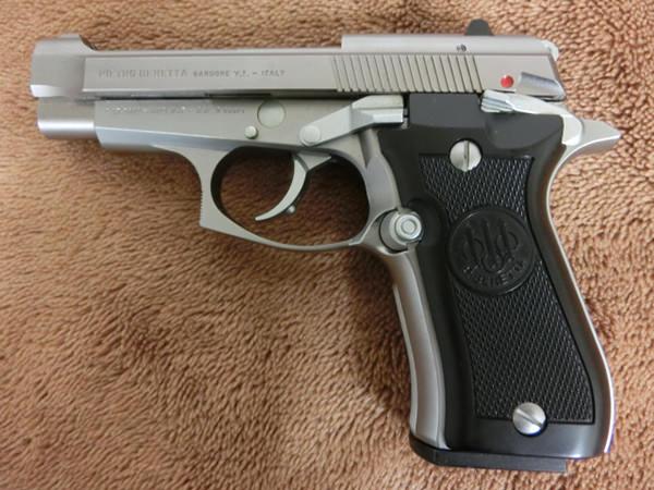 ベレッタ M84FS シルバー 2