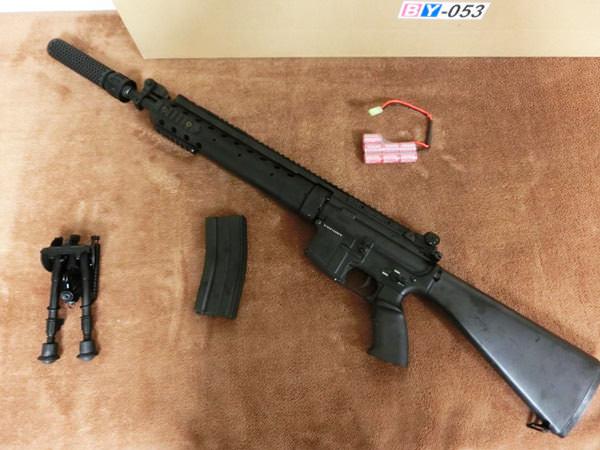 M4 SPR mod 2 フルメタル レシーライフル2