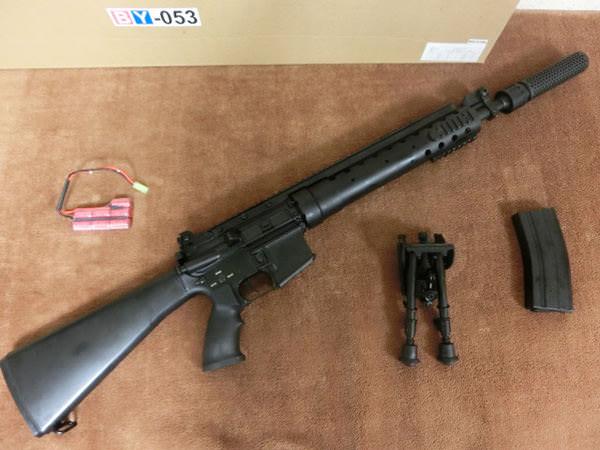 M4 SPR mod 2 フルメタル レシーライフル3