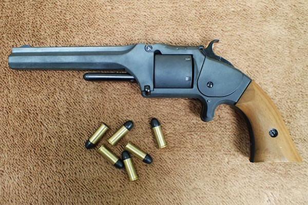 S&W MODEL 2 ARMY 坂本龍馬の銃2
