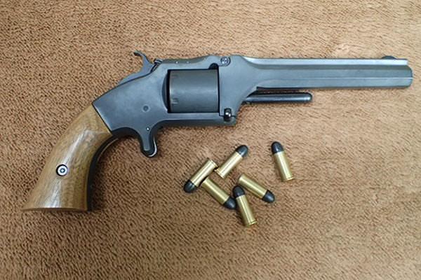S&W MODEL 2 ARMY 坂本龍馬の銃3