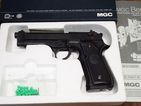 MGC ベレッタ M92F ガスガン ブローバック SRH スーパーリアルヘビーウェイト 買取