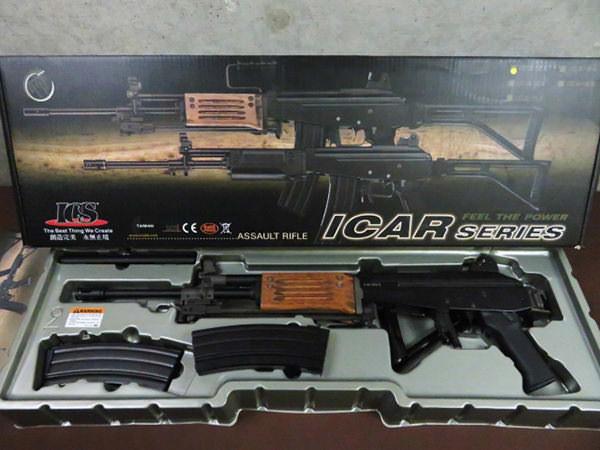 ICS Galil ガリル ARM  ICS-91 マガジン2個 買取