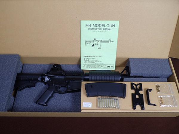 タニオコバ M4 モデルガン 10.5インチ ショートモデル ブローバック 買取