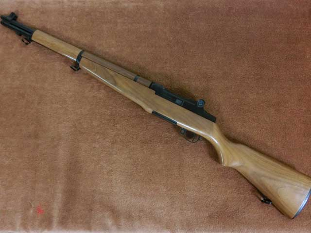 M1 GARAND Walnut Limited ガーランド3