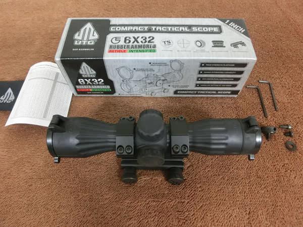 UTG 6×32 イルミネーテッド コンパクト ライフルスコープ 買取