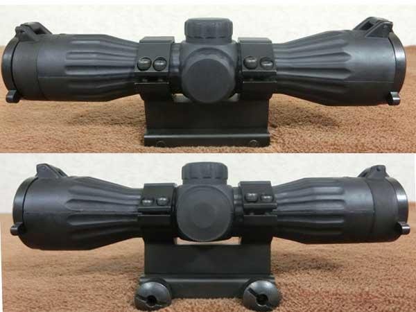 6x32 イルミネーテッド コンパクト ライフルスコープ2
