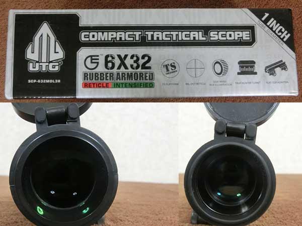 6x32 イルミネーテッド コンパクト ライフルスコープ3