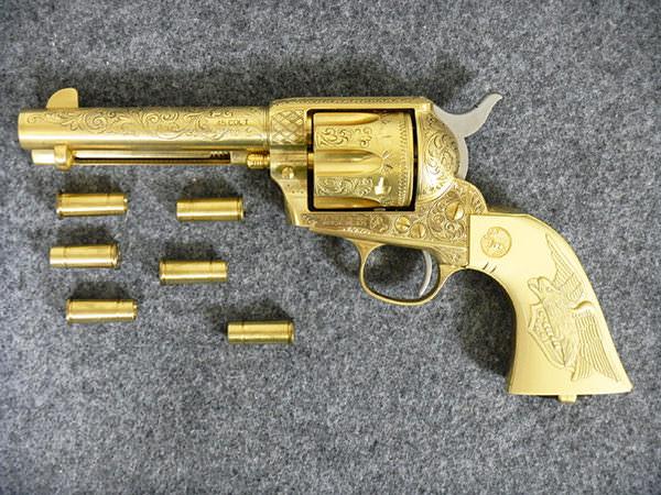 COLT SAA45 パットン将軍 金属1