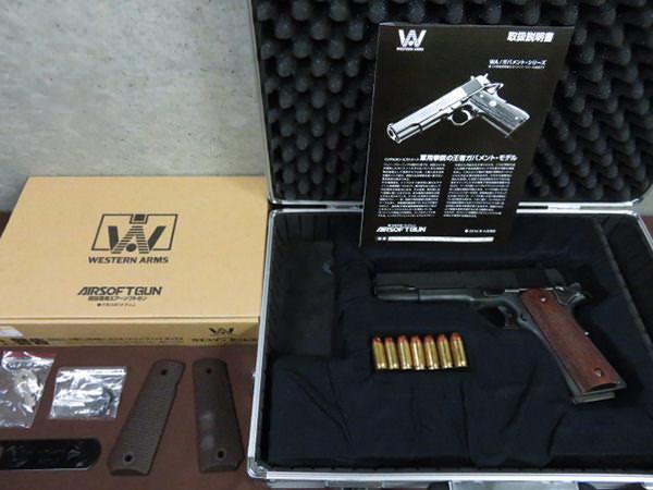 ウエスタンアームズ コルト M1911 ゲッタウェイ 買取