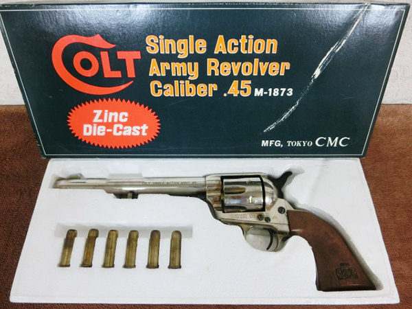 CMC コルト SAA Revolver Caiber 45 M-1873 SMG 買取