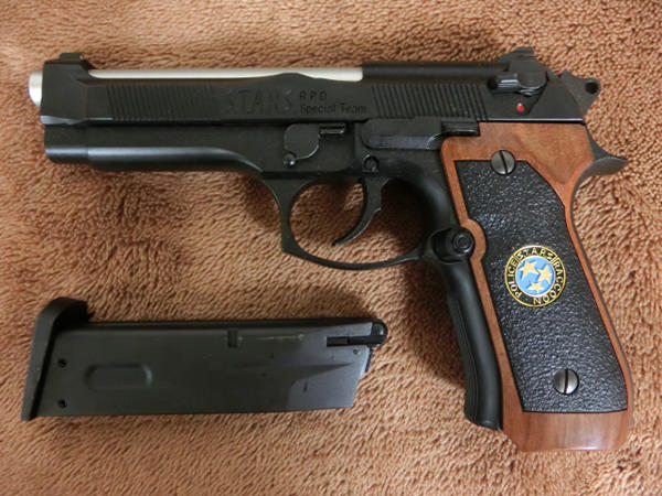 サムライエッジ M92F ジル・バレンタインモデル3
