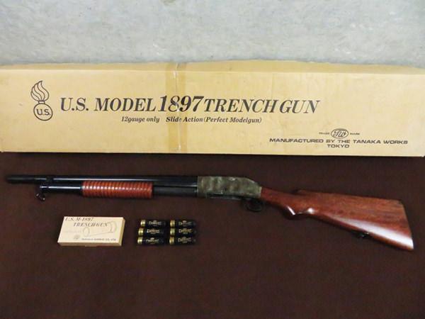 タナカ M1897 Trench Gun トレンチガン モデルガン ジャンク カートリッジ 買取