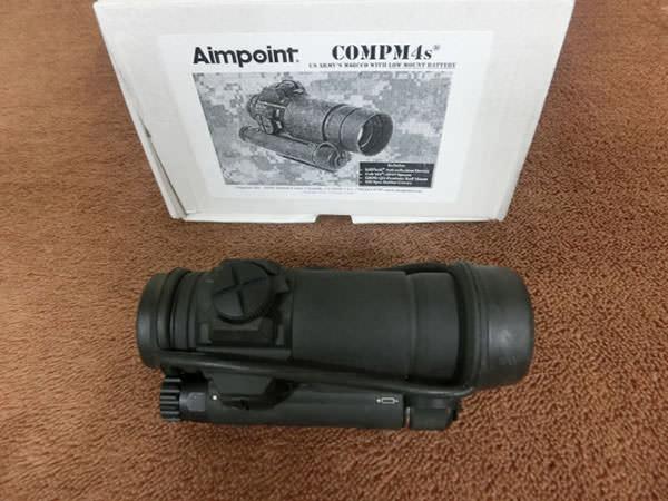 AIMPOINT Comp エイムポイント M4s 2MOA ドットサイト スコープ 買取