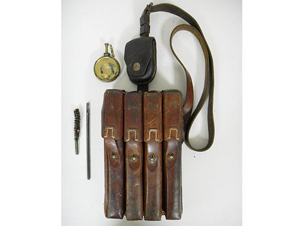 実物 ナチスドイツ軍 MP40 マガジンポーチ 買取