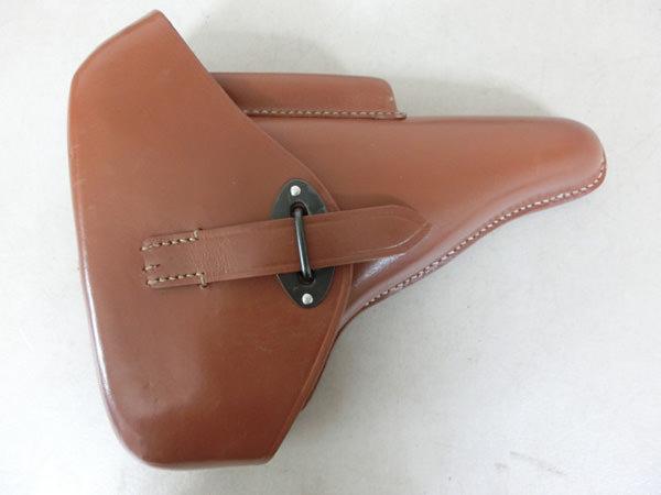 メーカー不明 ワルサー P38用 革製ホルスター 買取