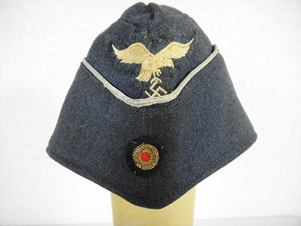WW2 ドイツ軍 ナチス 空軍将校 帽子 舟形帽 買取