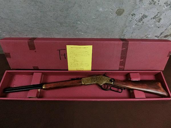 デニックス ウィンチェスター M73 ライフル 彫刻タイプ No.1253 モデルガン