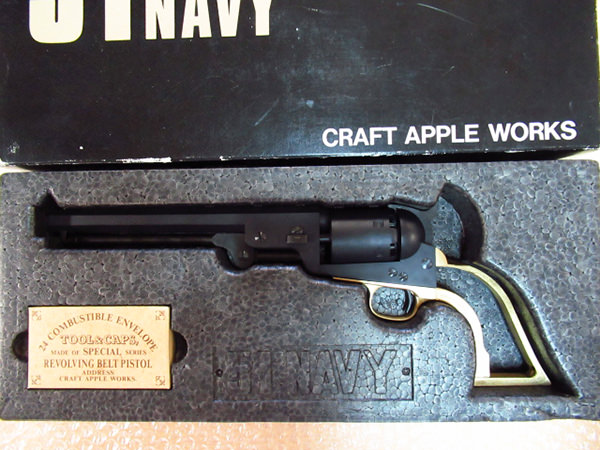 CAW クラフトアップルワークス 51NAVY グリップ無し 未発火 モデルガン