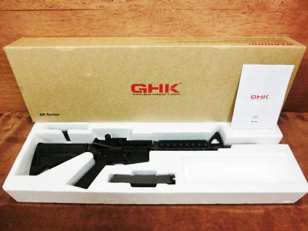 GHK GBB M4 12.5インチ ガスガン