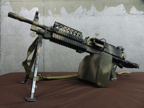 ミニミ M249 FORTRESS カスタム・改造品