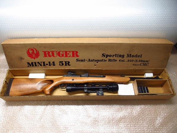 CMC ルガー MINI-14 5R モデルガン